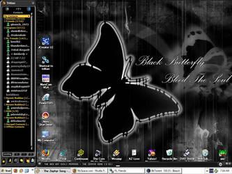 Bleach - Bleed Black Butterfly by JaMvIsdaRaVa