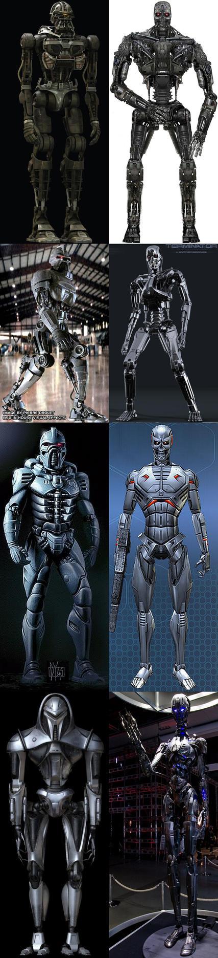 Cylon vs Terminator by viktor9ov