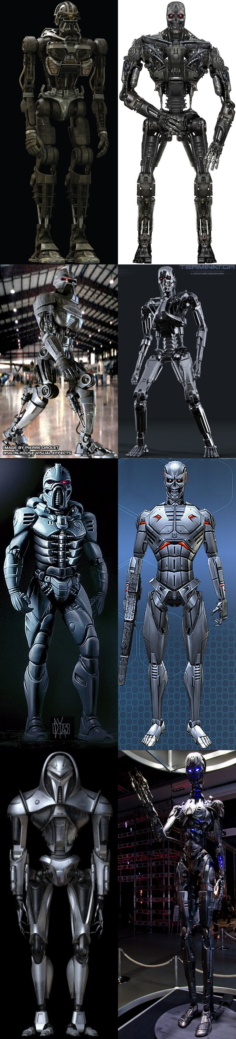 Cylon vs Termina...T 950 Terminator