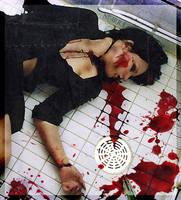 Bleeding on the floor... by DeathLovers