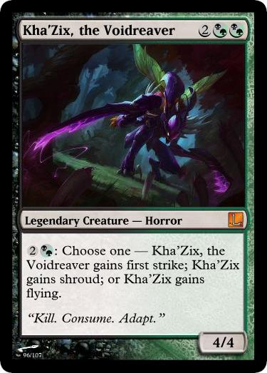 KhaZix the Voidreaver by Swend