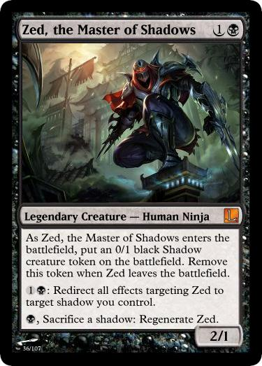 Zed the Master of Shad...