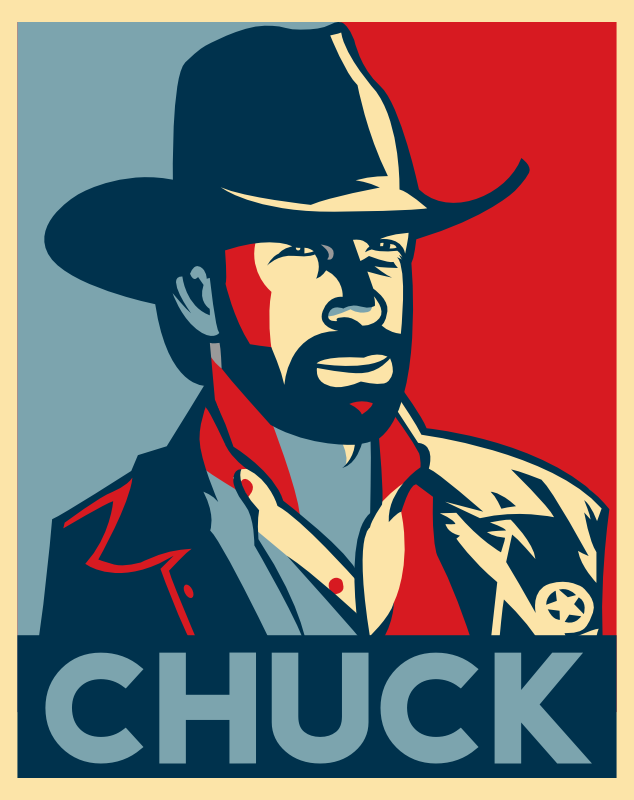 chuck norris obama style by ceeayybee on deviantart