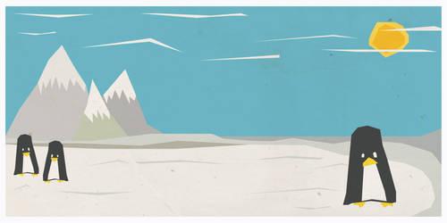 Penguin Love by satmack