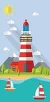 lighthouse-Wall