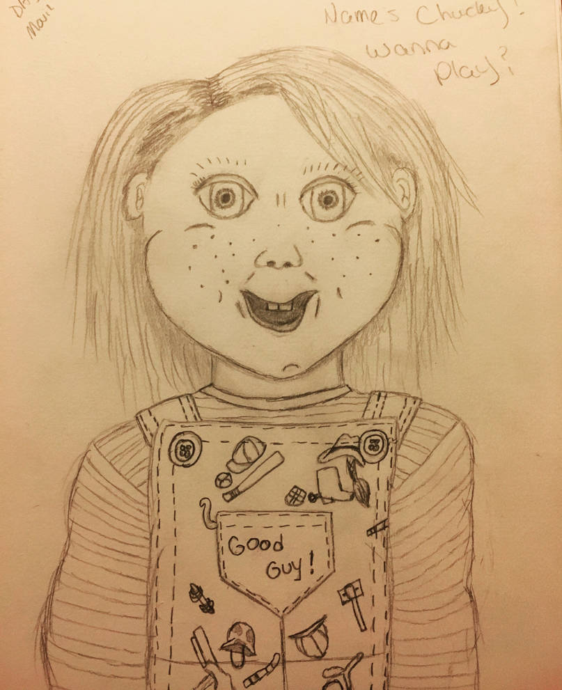 Hi! My Names Chucky! Wanna play? by lambskank on DeviantArt
