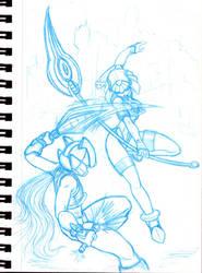 Zero VS Levi - Sketch