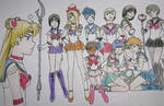 Sure We're Sailor Senshi