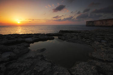 cliff top reflections by mgm-photo