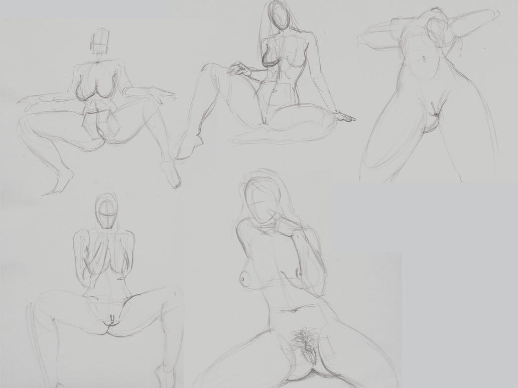 Quick-pencil-studies1 by HollyMartins