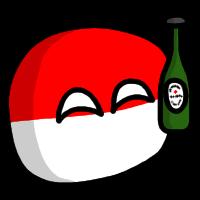 Polandball beer