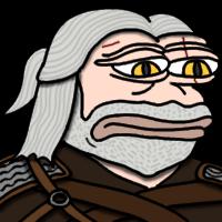 Pepe Geralt Sad