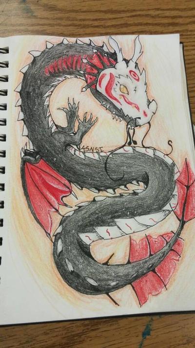 Chibi Chinese Water Dragon Grimm