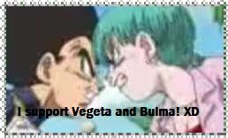 Vegeta and Bulma support stamp by amc-dbzr