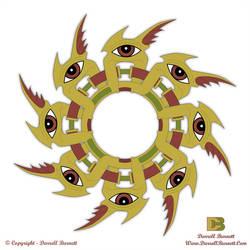 Spiral Eyes by DarrellBurnett2