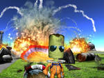 Kerbal guys don't look at explosions