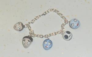Tim Burton Fan Bracelet by BeCharming