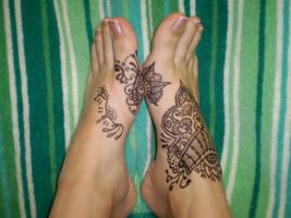 sharpie feet 1 by katamoria