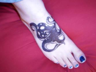 Sharpie Octopus by katamoria