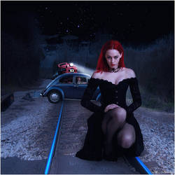 Tracks of the Black Widow by Arthur-Ramsey