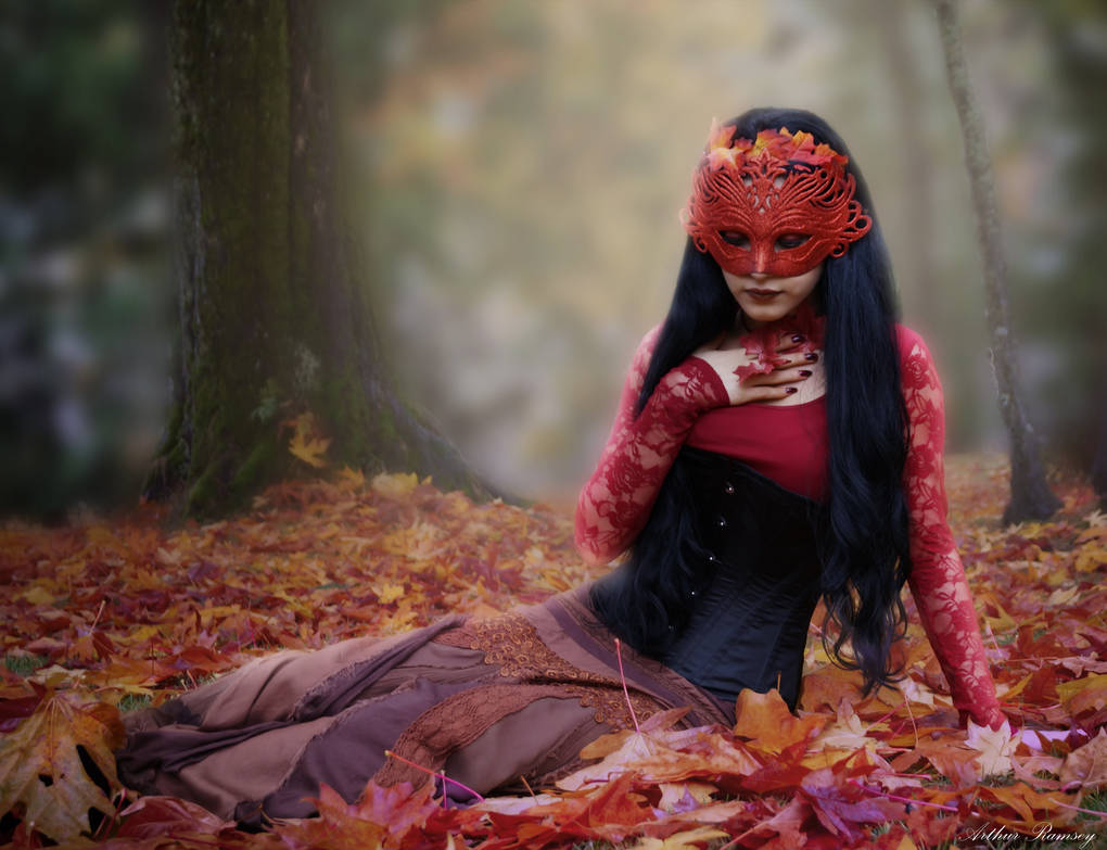 Lady Autumn by Arthur-Ramsey