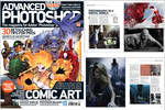 My interview in Advanced Photoshop Magazine  #126 by Arthur-Ramsey