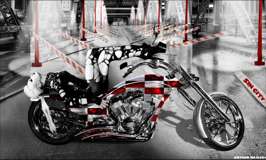 Sin City Road Warrior Up Close