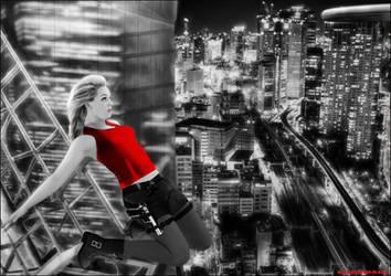 Sin City Lara Croft by Arthur-Ramsey