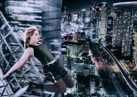 Lara Croft in Tokyo