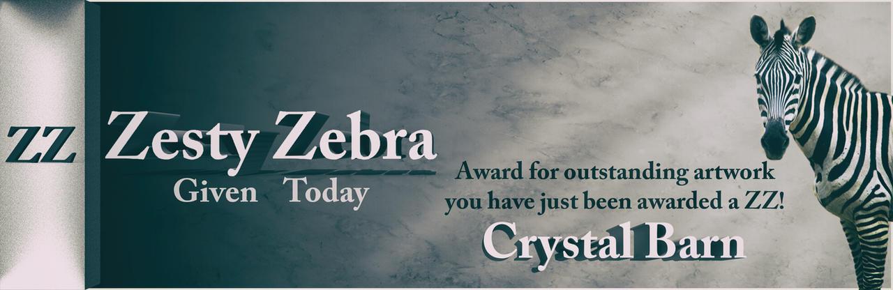 Zesty Zebra - Crystal Barn by conservancy