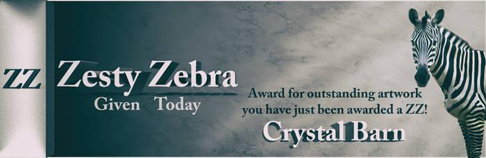 Zesty Zebra - Crystal Barn by Arthur-Ramsey