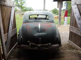Car in Garage by Arthur-Ramsey