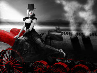 Sin City Steampunk Dragster by Arthur-Ramsey