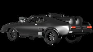 Road Warrior Mad Max Car by Arthur-Ramsey