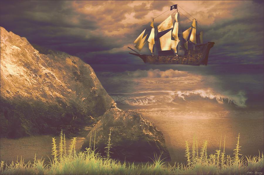 Pirate Treasure Retrieval by Arthur-Ramsey