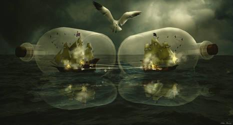Bottle Wars................. by Arthur-Ramsey