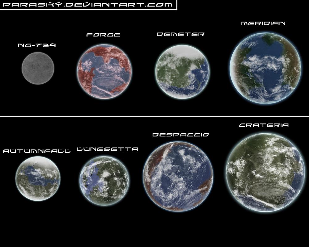 Paraverse Planet Chart by Parasky on DeviantArt