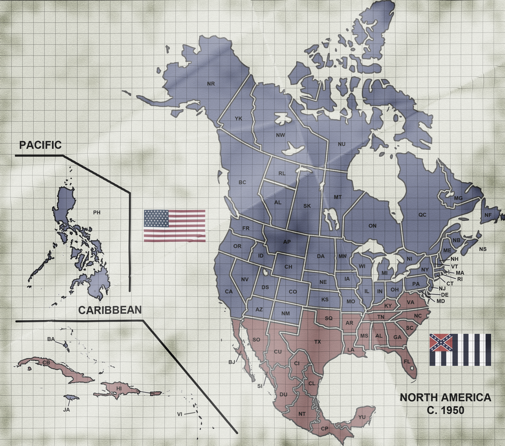 The Two Americas By ART5EC On DeviantArt