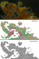 Priapus Prime Planetary Map by ART5EC