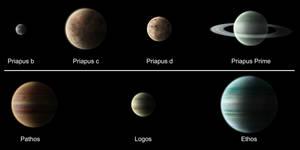 Priapus Star System by ART5EC
