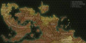 Priapus Prime World Map Redux by ART5EC