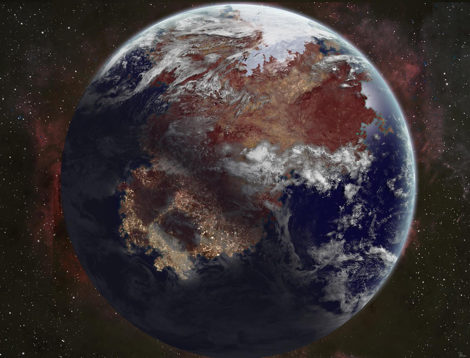 Terra Augustus by ART5EC
