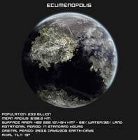 Worlds of the Empire: Ecumenopolis by ART5EC