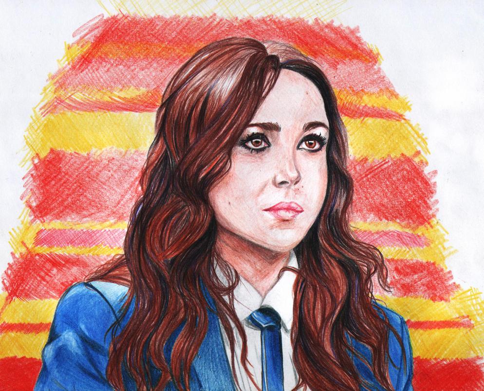 Ellen Page by PopovaJr