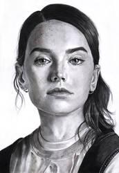 Daisy Ridley by PopovaJr