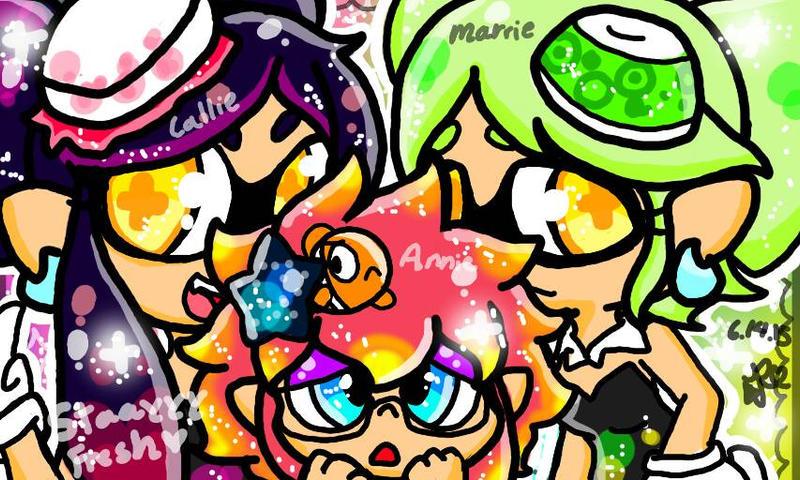 Callie And Marie Wallpaper: Annie,Callie And Marie By DedenneLolitaArts98 On DeviantArt