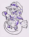 Dia 28 - MagicalMarch - Bruja by LaDyMu