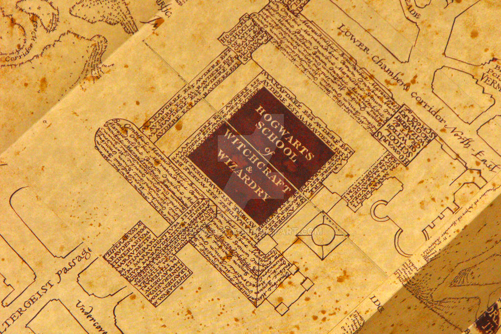 The Marauders Map Inside by Rob234111