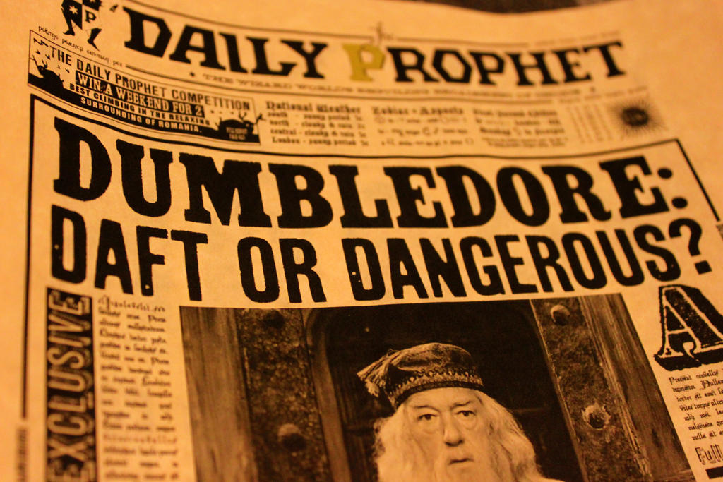 Dumbledore: Daft or Dangerous?