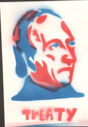 Propaganda tag of john tyler by HashTagLetsGetWierd